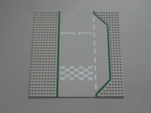 425p01 Starting Grid Lego Base Plate Building Board 32 x 32 Studs Grey Road