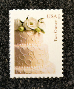 2015usa 5000 71c wedding cake stamp mint nh postage stamp two ounce ebay. Black Bedroom Furniture Sets. Home Design Ideas