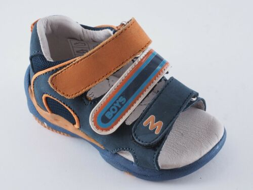 22 Orange 21 Neuf Chaussures Boomers Bleu 20 Sandales Bambini Enfants qwxX0fH4a