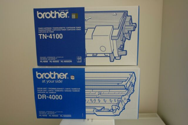 Original NEU + OVP Brother Set Toner TN 4100 + Trommel DR 4000 Drum Unit Trommel