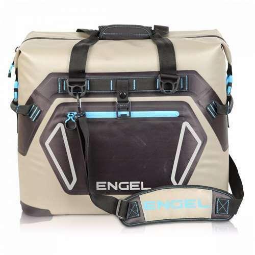 Engel Coolers 30 Liter Waterproof Soft Sided Cooler Bag Open Box Tan