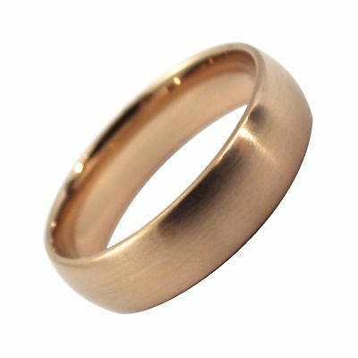 Cool Wedding Rings.Copper Color Ring 6mm Mens Womens Cool Stainless Steel Wedding Band Size 5 13 Ebay