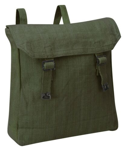 NEW VINTAGE CANVAS WEB RUCKSACK WITH STRAPS
