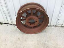 Used Allis Chalmers Parts Wc Tractor Rear Wheel Flat Spoke Cut Off Rim 8 X 24