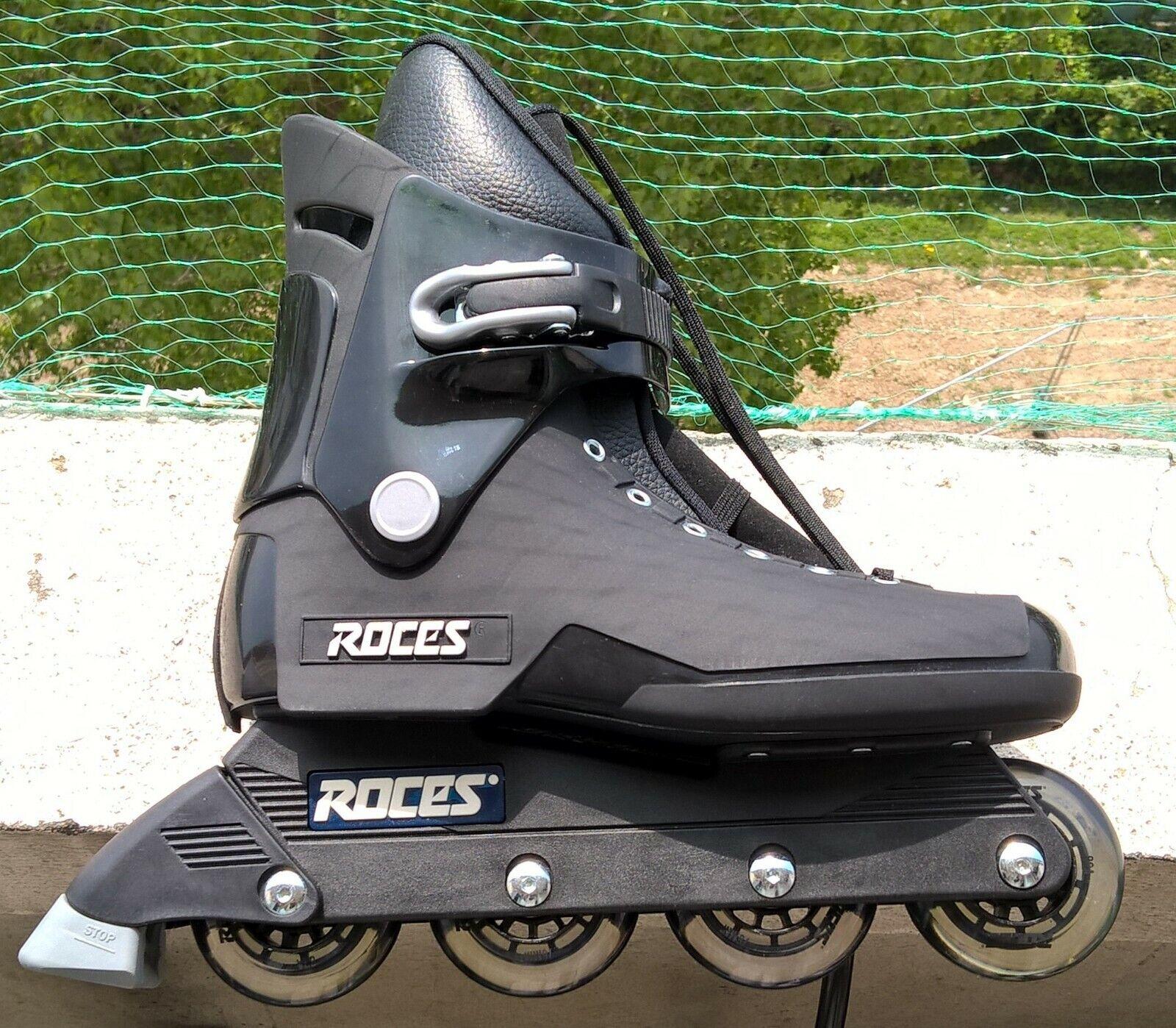 Rollers en ligne Roces FCO - Größe 44 - comme neuf - Farbe schwarz