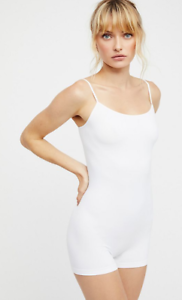 NEW Free People Intimately Seamless Basic Romper in Black Sz XS//S-M//L $50.11