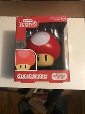 SUPER MUSHROOM LIGHT NIB PALADONE SUPER MARIO BROS