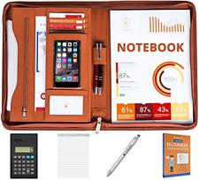 Cossini Premium Business Portfolio With Zipper Padfolio Superior Business Pu