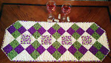 FUN FOUR-PATCH TABLE RUNNER SEWING PATTERN, From Cut Loose Press Patterns NEW