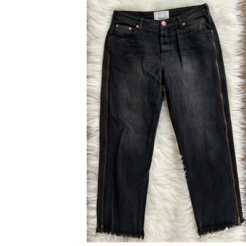 One Teaspoon Jeans Size 27 Side zip Trucker