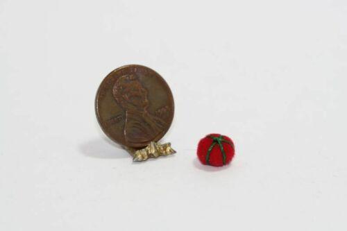 Dollhouse Miniature Tomato Pin Cushion