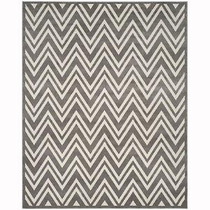 Safavieh Newport Collection 8 x 10 Foot Indoor Floor Carpet Area Rug, Stone