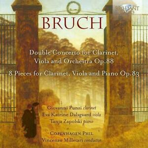 VIOLA-AND-ORCHESTRA-BRUCH-CONCERTO-FOR-CLARINET-PUNZI-DALSGAARD-CD-NEU