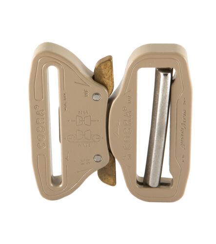"FC50SVF-XL Male Adjust AustriAlpin 50mm 2/"" Desert Sand Cobra Buckle XL Clips"