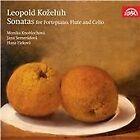 Leopold Antonin Kozeluch - Leopold Kozeluh: Sonatas for Fortepiano, Flute & Cello (2012)