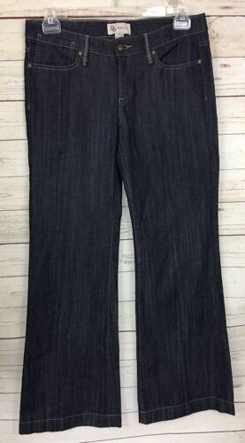 BCBGeneration Dark Wash Trouser Jeans Patchwork Po