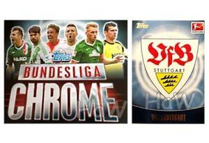 LEGA-FEDERALE-Chrome-TOPPS-2013-14-13-14-VfB-Stoccarda-selezione