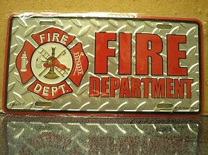 LICENSE-PLATE-FIRE-DEPARTMENT