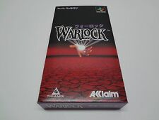 warlock Nintendo Super Famicom Japan NEW