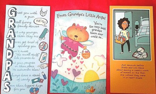 "8.5 X 4 1//4/""  CUTE  /""ITS THE LITTLE THINGS YOU DO/""...FATHER/'S DAY CARD FROM WIFE"