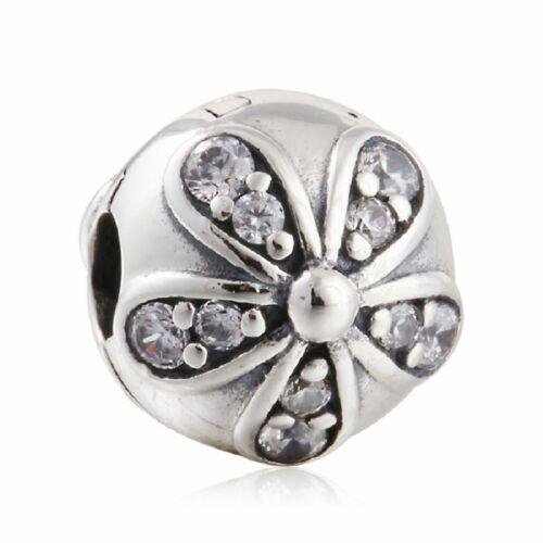 original Sterling Silber Perlen Charm Klammer sperren Stopper Charms Perlen