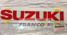 SUZUKI RG500 MID FAIRING PANEL EMBLEMS x2 68111-33200-07G