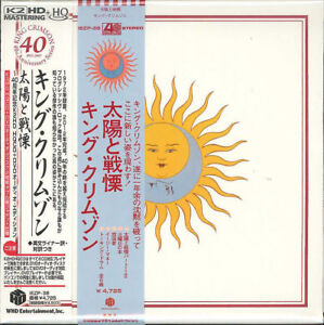 KING-CRIMSON-LARKS-039-TONGUES-IN-ASPIC-40TH-JAPAN-HQCD-DVD-AUDIO-K81