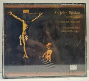CD-Box(2 CDs) Bach - St. John Passion (1725 Version)