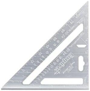 Johnson Level  CS7 16-Inch x 24-Inch Black Aluminum /& White fill Rafter Square