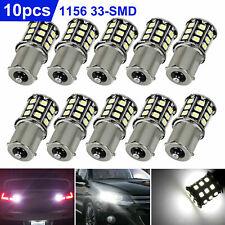 10pcs Super Bright White 1156 Rv Trailer 33 Smd Led 1141 Interior Light Bulbs Us