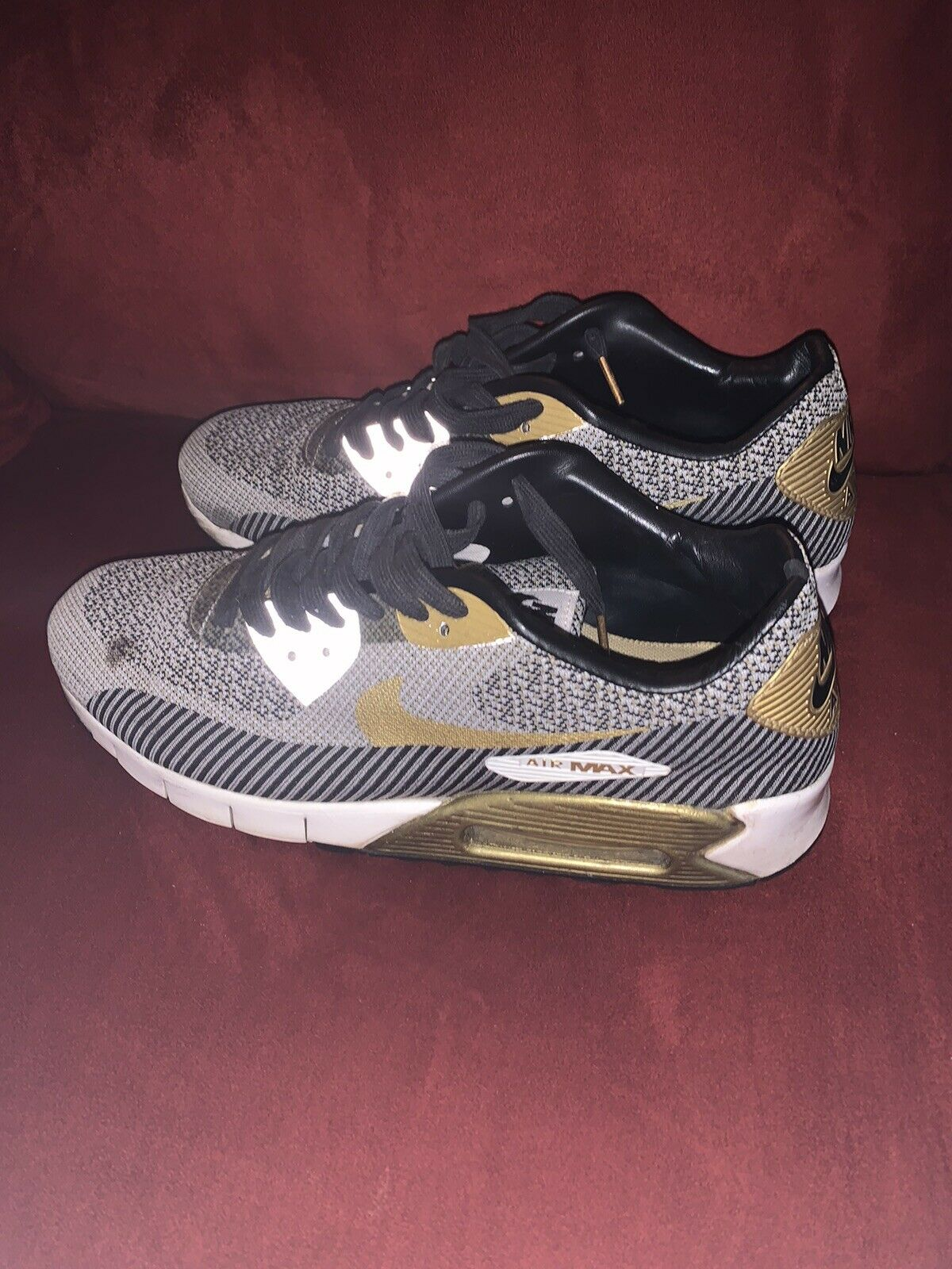 Size 10 - Nike Air Max 90 Jacquard Premium QS Trophy Pack 2014
