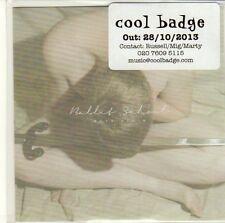 (EQ657) Ballet School, Boys Again EP - 2013 DJ CD