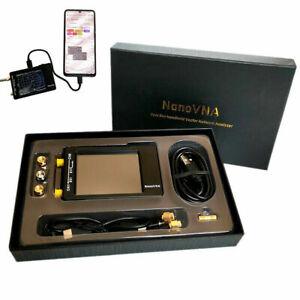50KHz-900MHz-NanoVNA-H-HF-VHF-UHF-Vector-Network-Analyzer-Antenna-Analyzer-Case