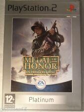 PS2 PS3 MEDAL OF HONOR PLAYSTATION 2 MEDAL OF HONOR EN PREMIERE LIGNE PS2