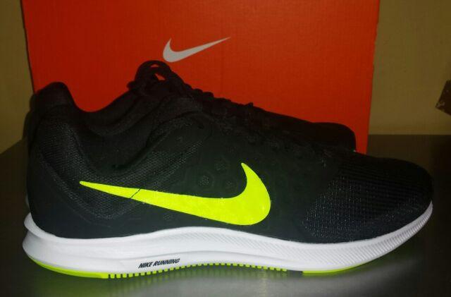 7908565b1e3b Nike Men s Downshifter 7 Running Shoes Black Volt Size 10.5   NEW 852459-008