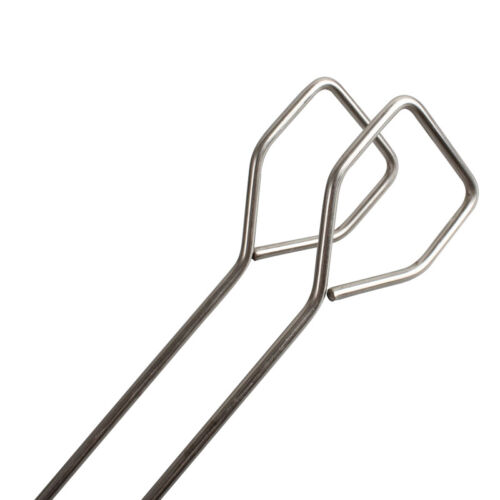 Barbecue Tools Set Grilling Tongs Fork Spatula Stainless Steel Utensil new.
