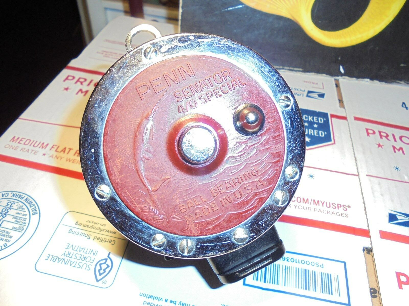 VINTAGE 4/0 SPECIAL-113H-NEWELL PENN SPECIAL-113H-NEWELL 4/0 BARS & REEL SEAT,ALUMINUM SPOOL c82897