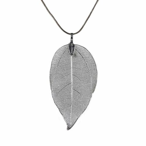 Special Leaves Leaf Sweater Pendant Necklace Ladies Long Chain New Women Jewelry