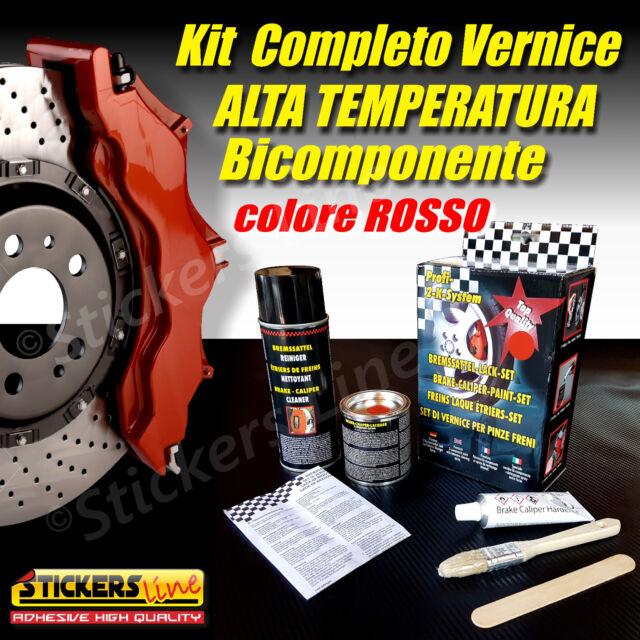 Pintar Pinzas Freno De Kit Altos Temperaturas Color Rojo Dos Componentes Tuning