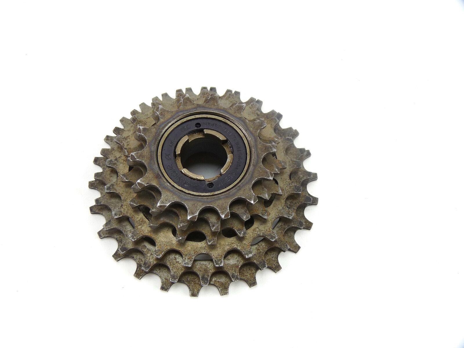 Suntour freewheel Accushift 6 speed 14-28 Vintage Bicycle  Alpha Winner NOS  guaranteed