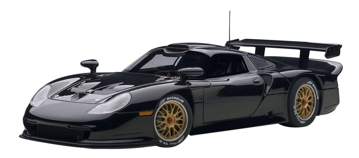 AUT89770 - Voiture de sport - Porsche 911 GT1 1997 de couleur Noire - 1 18