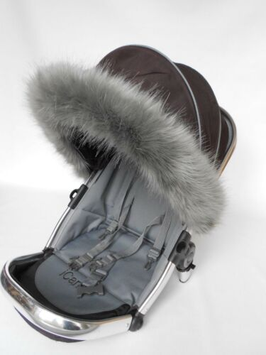 Silver Cross wayfarer pioneer surf pop,reflex pushchair pram fur trim hood