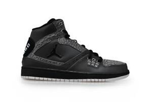 1 Nike Vert Jordan 019 Blanc Gris Hommes Noir Gris Baskets Flight 372704 qEA1wxSB