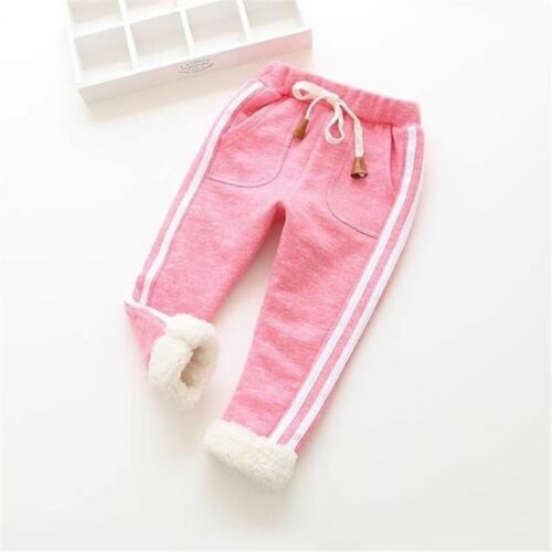BibiCola kids winter warm sports pants baby boy girl pants newborn baby trousers