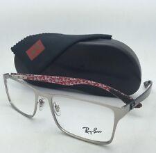 1960b512072 item 2 New RAY-BAN Rx-able Eyeglasses RB 8415 2538 55-17 Silver Frames w  Carbon  Fiber -New RAY-BAN Rx-able Eyeglasses RB 8415 2538 55-17 Silver Frames w   ...