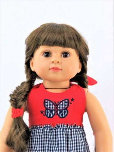 """Butterfly Halter Dress Fits 18/"""" American Girl Doll Clothes"""