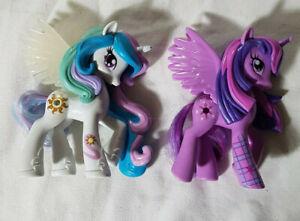 My Little Pony Lot G4 Ponies Princess Celestia Twilight Sparkle Ebay