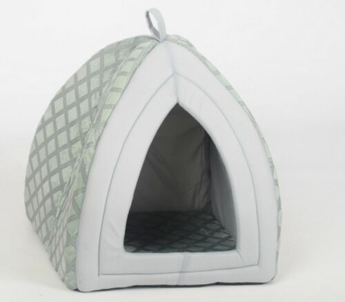 Pet House Igloo Very Warm Padded Fleece Winter Bed house Dog and Cat Kitten