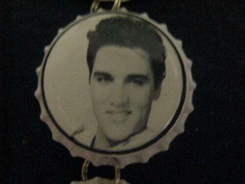 Elvis Presley Bottle Cap Inside Rear View Mirror Ornament ~ **Gift Idea