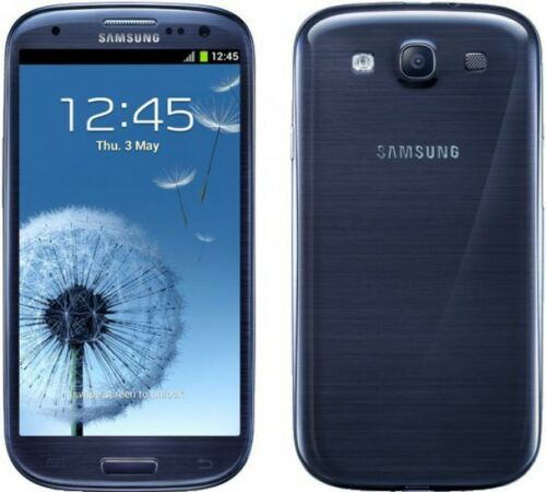 1 of 1 - NEW Samsung Galaxy S III GT-I9300 16GB Unlocked Android OS Mobile Phone - Blue